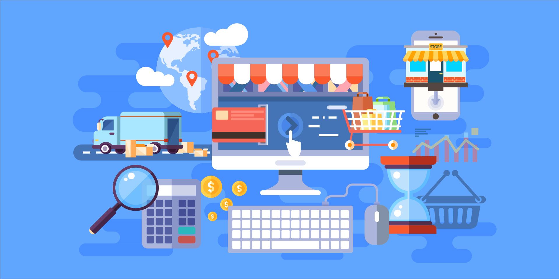 Sklep internetowy z niezbędnymi funkcjonalnościami