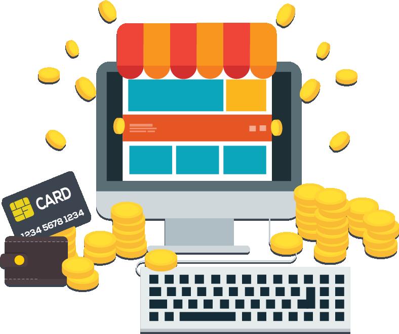 Zarabiający sklep internetowy
