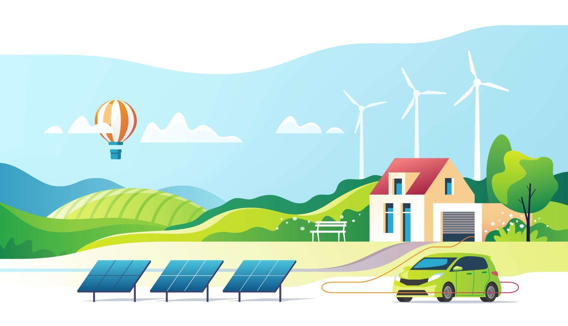 budowa strony internetowej dla firmy zajmującej się montażem paneli słonecznych i fotowoltaiką